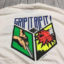 90s VTG GRIP IT RIP IT GOLF NEON T Shirt Hanes Heavyweight Made USA XL 80s