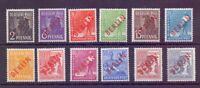 Berlin Rotaufdruck 1949 MiNr 21/32 postfrisch tw.geprüft - Michel 610,00 € (893)