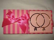 Set of 2 Victoria Secret Bracelets Supermodel Essentials ANGEL Wings Bangles