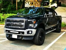 Raptor Style Mesh LED Grille For 11-16 Ford F250 F350 Super Duty Letters