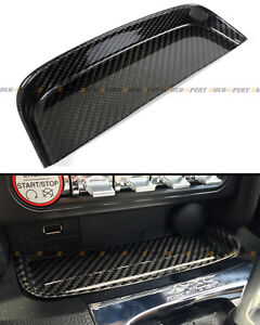 FOR 2015-2020 FORD MUSTANG S550 GT V6 REAL CARBON FIBER CHANGE COIN TRAY BOX