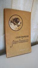 CINOLOGÍA / Club en francés San Bernardo directorio 1913