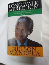 LONG WALK TO FREEDOM - Nelson Mandela - Signed!