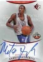 Mike Taylor 2008-09 Upper Deck SP Rookie Authentics Auto Autograph
