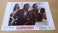 Usado - CARMEN - 1x Cartelera de cine - Emiliano Piedra - Paco de Lucia - Film