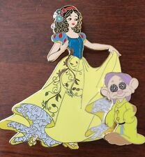 Art Of Snow White Disney Princess Fantasy pin LE 33 Dopey Auctions