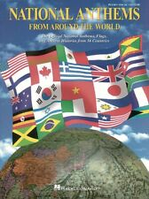 National Anthems from Around the World Sheet Music Piano Vocal Guitar 000311633