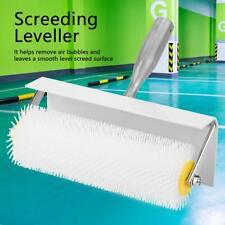 25CM Mini Spiked Aeration Roller Latex Self Leveling Screeding Leveller Flooring