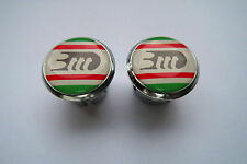 new 3ttt Handlebar End Plugs Bar End Caps vintage 3D classic italian colour plug