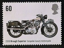 Brough Superior (1930) Motorcycle on 2005 Stamp - Unmounted Mint