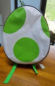 Rare Official Club Nintendo Yoshi Backpack Collector's Bag with Rare Zip Pulls