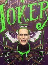 "HOT TOYS SQUADRA suicida Joker Viola Cappotto 12"" TESTA SCOLPIRE Loose SCALA 1/6th"