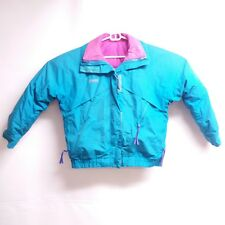 Vintage Columbia Whirlibird Radial Sleeve Women 3in1 Down Jacket Coat Sz Large