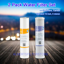 COMPATIBLE WATER FILTER SET FIT HYDRO-LOGIC STEALTH RO 100 200 SMALL BOY SYSTEM