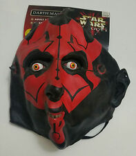 STAR WARS EPISODE I DARTH MAUL FACE MASK ADULT NEW