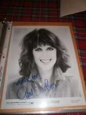PAM DAWBER SIGNED AGENCY PHOTOGRAPH WITH ENVELOPE