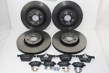 Original Brake Discs + Brake Pads Front+Rear Ford Galaxy - S-MAX 59995511
