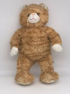 Official Build A Bear Large Soft Ginger Striped Cat Kitten Plush Toy