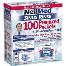 NeilMed's Sinus Rinse Pre-Mixed Packets - 100 ct + Makeup Sponge