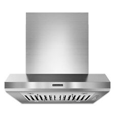 "KitchenAid KXI9736YSS 36"" Island Mount Chimney Range Hood"