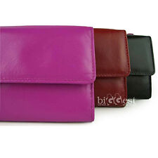 New Ladies Soft Leather Purse/Wallet in 3 Designer Colours Dominique Top Quality