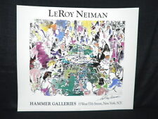 Leroy Neiman Signed The Game Of Life Lithograph JSA