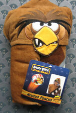 ANGRY BIRDS Star Wars Brown Hooded Towel 100% Cotton NWT