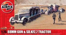 Airfix 88mm Gun & Sd.Kfz.7 Tractor 1:76 Art. A02303 Geschütz und Fahrzeug