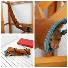 Hamster Small Animal Hammock Long Tunnel Tube Rat Mouse Ferret Toy Warm Hammock