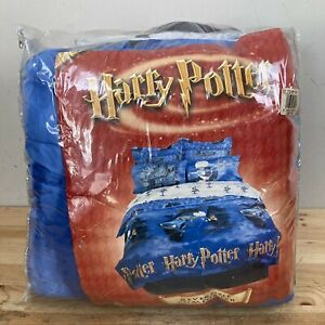 """Vintage Harry Potter """"Escape"""" Twin Comforter FULL SET, Sheets, Pillowcases NEW"""