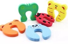 Set Of 2 Door Jammers Stoppers Safety Baby Toddler Proofing