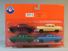 LIONEL AUTO LOADER CARS 4 PACK o gauge building scenery train autos 6-81738 NEW