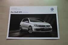 171635) VW Golf VI GTI - adidas - Technik & Preise & Extras - Prospekt 10/2011