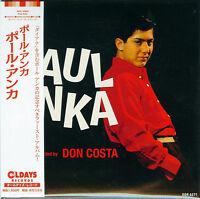 PAUL ANKA-S/T-JAPAN MINI LP CD BONUS TRACK C94