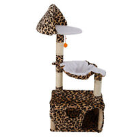 """New 47"""" Cat Tree Tower Condo Furniture Scratching Post Pet Kitty Play House"""