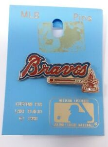 Atlanta Braves Lapel Vest Hat Pin Baseball MLB Pinback