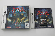 NINTENDO DS NDS MONSTER HOUSE COMPLETO PAL ESPAÑA