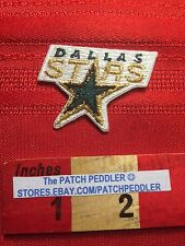 DALLAS STARS ~ NHL PROFESSIONAL HOCKEY ~ Texas Jacket Patch 63Z7