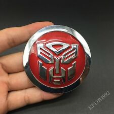 Metal Transformers Decepticon Autobots Emblem Car Motorcycle Badge Decal Sticker