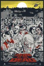 Dawn of the Dead art print by Jeff Proctor Mondo Mystery Movie Screening