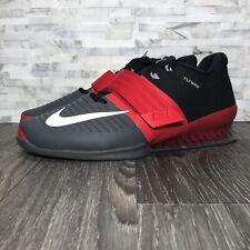 new style 208f2 9b04f Nike Romaleos 3 (852933-600) Universidad Rojo y Gris Oscuro Tamaño De  Zapatos de Halterofilia