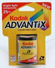 Kodak Advantix Aps100-25 Iso 100 color film exp 08-2000 sealed 388596 97