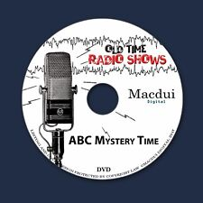 ABC Mystery Time Old Time Radio Shows OTR Thriller 14 Mp3 Audio Files 1 Data DVD