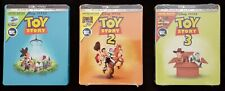 Toy Story 1, 2, and 3 Limited Edition Collectible Steelbooks (Best Buy Editions)