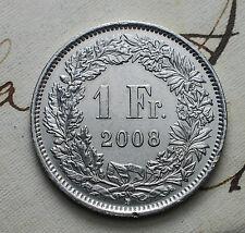 2008  Svizzera Switzerland  1 fr.  franc