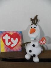 ~Ty Beanie Babies~ Disney Frozen Olaf Snowman Beanie Baby Plush Tags