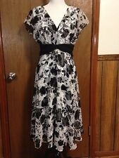 NWOT Beautiful Connected Apparel Women's Size 12 Dress Sheer Lined