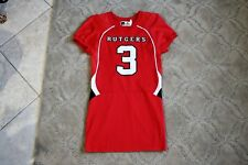Rutgers Scarlet Knights non game used jersey Powers size large salesman's sample