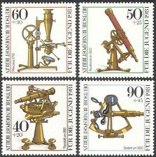 Germany (B) 1981 Optical Instruments/Science/Telescope/Microscope 4v set n27497