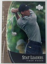 2001 01 Upper Deck Stat Leaders Driving Distance Tiger Woods #SL2, Golf
